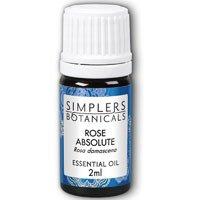 Simplers Botanicals - Essential Oil Rose Absolute - 2 ml. by Simplers Botanicals