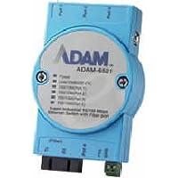 Advantech ETHERNET DEVICE, 5-port Switch w/1 Multi-Mode Fiber-Optic Port. Model: ADAM-6521-BE