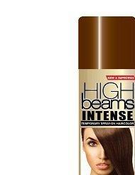 High Beams Intense Temporary Spray-On Hair Color - Brown 2.7 oz (3 PACK) -