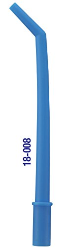 Premium Plus Dental Disposable Surgical Aspirator Tips Large Orifice Non-vented 125 Pcs/Pack, 18-008V