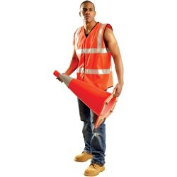 Vest 2X Occulux Slvless Vest:Orange: 561-Lux-Ssfullg-O2X - 2x occulux slvless vest:orange (Occulux Standard Safety Vests)