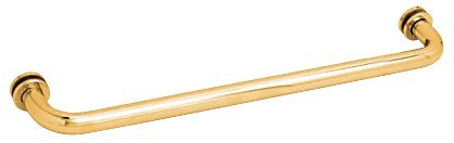 (Gold) C.R. LAURENCE SDTBS24GP CRL Gold Plated 60cm Single-Sided Towel Bar for Glass B000NY9G94 ゴールド ゴールド