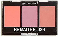 City Color Cosmetics Be Matte Blush in Fresh Melon, Blackberry, and Guava - Cheek Trio ()