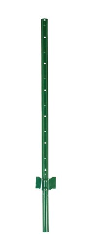 Origin Point Brands 090006 Light Duty Fence Posts, 6-Feet, Green Anchoring Fence Posts
