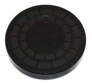 Nitrile Rubber End Cap Plugs Seal 52mm Outside Diameter 8mm Width EC52x8