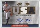 Parker French (Baseball Card) 2009 Upper Deck USA Baseball - Box Set Triple Jersey 16U National Team - Autograph [Autographed] #TJA16U-PF