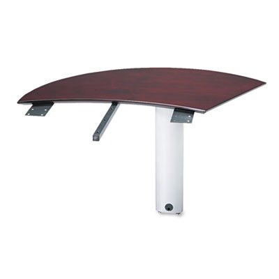 TIFNEXTRMAH - Tiffany industries Napoli Curved Right Extension For Desk