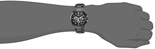 Citizen Men's ' Quartz Stainless Steel Casual Watch, Color Black (Model: AN8175-55E)