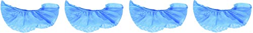 woodi wd228 Disposable Polypropylene Shoe Covers, Large, Pack of 100 (Fоur Paсk) by woodi (Image #1)