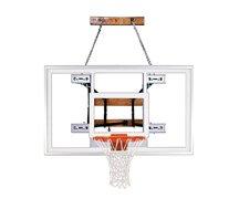 最初チームfoldamount82 Pro steel-glass Side Folding壁マウントバスケットボールsystem44 ;ロイヤルブルー B01HC0AXV6