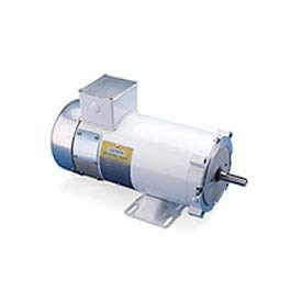 Leeson Motors Washdown DC Motor-3/4HP, 180V, 1750RPM, TENV, Rigid C ()