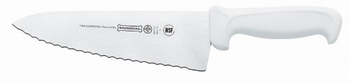 Mundial W5610-8E 8-Inch Serrated Sandwich Spreader, White