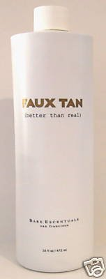 Bare Escentuals Faux Tan Sunless Tanner, Grande Bouteille 16oz, New