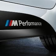 BMW M Performance Decal for Rocker Panels For BMW 3-Series Sedans and Wagons (2012+)