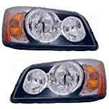 Beaver Motor Coach Contessa 2007-2009 RV Motorhome Pair (Left & Right) Replacement Headlights Head Lights Front Lamps