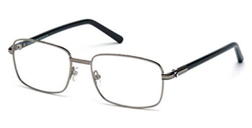 Montblanc Rectangular Eyeglasses MB530 012 Size: 56mm Dark Ruthenium/Gray 530