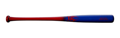 Louisville Slugger 2020 Youth Prime Maple Y271 Deep Red/Electric Blue Baseball Bat, 30