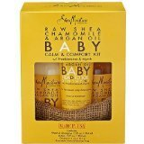 Raw Shea Chamomile & Argan Oil Baby Baby Gift Set by Shea Moisture (Moisture Set Gift)