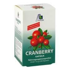 Cranberry Capsules 400 mg, 240 St - Food Supplement - Energy - Power - Vitality - Muscle Gain - Vitamin - Resistance - Provides You Eith Vitamins And Minerals - Germany