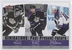 Marcel Dionne; Alex Frolov; Patrick O'Sullivan (Hockey Card) 2007-08 Fleer Ultra - Generations: Past Present Future #G4 ()