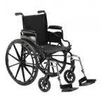 "Invacare Veranda Manual Wheelchair (20"" X 16"" Desk-length Arms Swingaway Legs)"