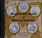 Blackline Maps of World History (The Complete Set 5000BC - The Present)