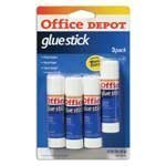 UPC 735854001285, Office Depot(R) Glue Sticks, 0.32 Oz., Clear, Pack Of 4