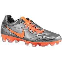 Nike Mens Total90 Laser IV KL-FG 6 M US Black/Black/Total Crimson (Total 90 Soccer)