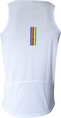 Ekeko Camiseta OLIMPICA Vintage, Olimpiadas, Running, Atletismo y Deportes de Playa, Camiseta Tecnica Transpirable Color Blanco (XX-Large): Amazon.es: Deportes y aire libre