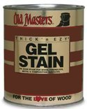 Old Masters Int/Ext Gel Stain Spanish Oak Quart by OLD ()