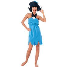 [Rubies Costume Betty Rubble, Blue, Large (Fits size 14-16)] (Wilma Flintstone And Betty Rubble Costumes)