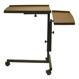 Adjustable Laptop Notebook Caddy Writing Desk in Espresso by Asia Direct by Asia Direct