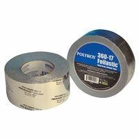 Polyken Aluminum Tape - 72 mm Width x 17 mil Total Thickness - Flame Retardant - 360-17 72MM X 31M ALUM [PRICE is per ROLL]