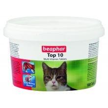 Beaphar Top 10 Multivitamine für Katzen 117g