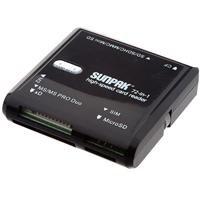 Usb 2.0 Sim Card - Sunpak 72-in-1 High Speed Card Reader - Universal USB 2.0 Card Reader including SIM