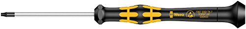 Wera 05030403001 TX7x60mm Kraftform 1567 Micro Torx Driver with Holding Function -