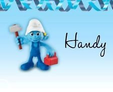 The Smurfs 2 Mcdonalds Happy Meal 2013 #3 Handy Doll (3 Happy Meal)