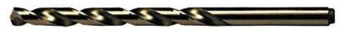 Viking Drill and Tool 08560#27 Type 240-D 135 Degree Split Point Cobalt Jobber Gold Finish Drill Bit 12 Pack
