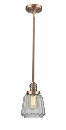 Innovations Lighting Innovations 201S-AC-G142 One Light Mini Pendant Antique ()