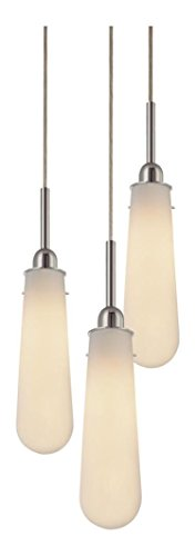 Sonneman Teardrop 3 Light Pendant in US - 3