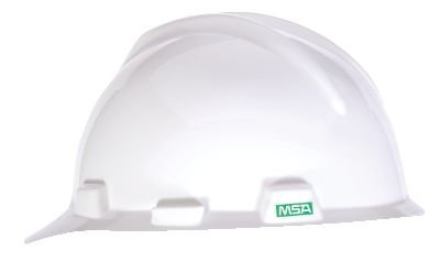 Msa Safety 10057441 V Gard Protective Cap  1 Touch Suspension  Standard  White