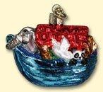 Old World Christmas Noah's Ark Ornament (Christmas Noahs Ark)