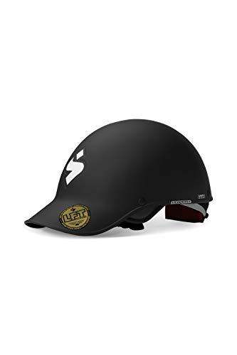 Sweet Protection Strutter Paddle Helmet, Dirt Black, ML (Helmet Whitewater)
