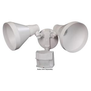 (Defiant 180 Degree Outdoor White Motion-Sensing)
