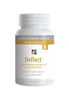 D'Adamo Personalized Nutrition Deflect B, 120 Count