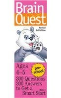 Brain Quest Card Deck (University Games Preschool Brain Quest Card Deck 01728)