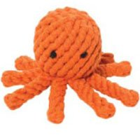 Good Karma Rope Toy – Elton the Octopus – Small, My Pet Supplies