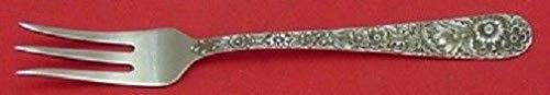 (REPOUSSE BY KIRK STERLING SILVER PICKLE FORK 3-TINE 6
