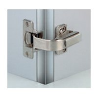 (Nexis Screw On 110 Degrees Pie Cut Corner Hinge - Self Close)