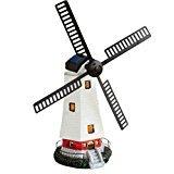 "Nantucket D 20"" Solar Power Rechargable LED Spinning Windmill Yard Decor"
